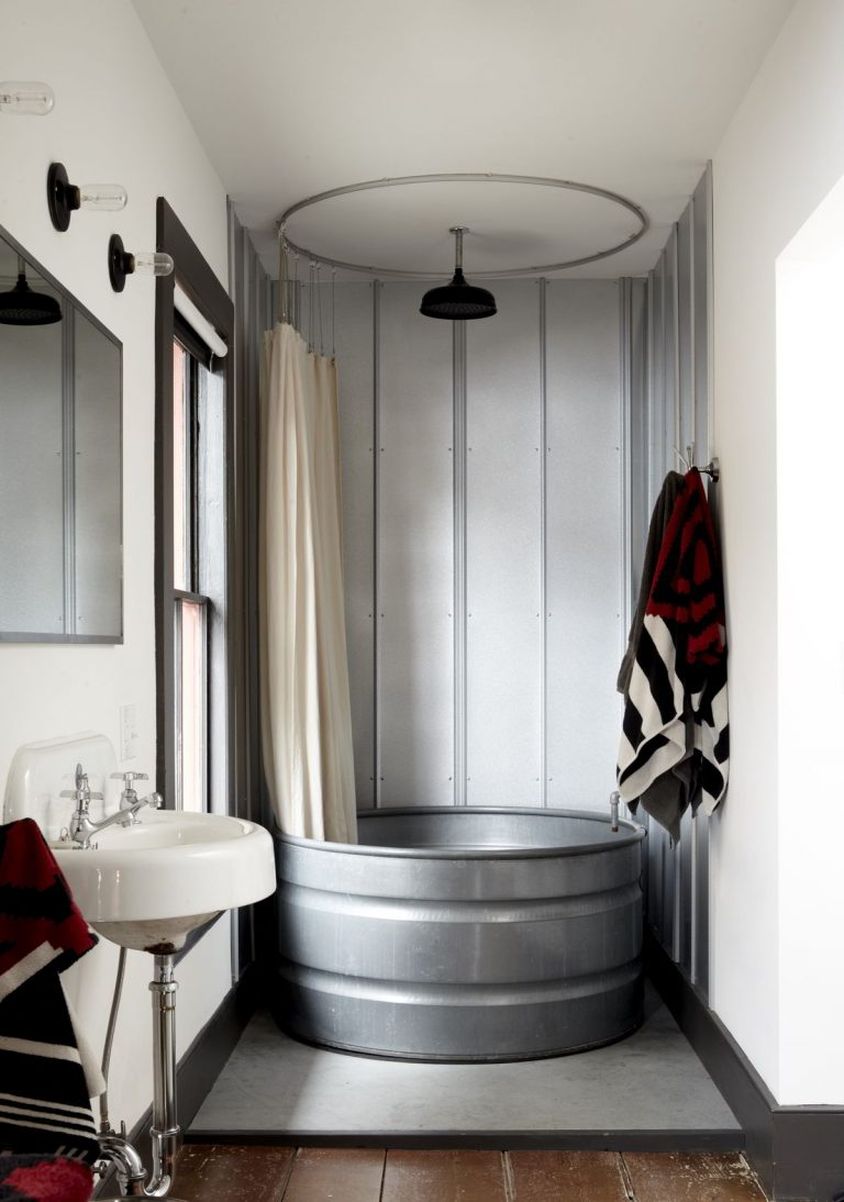 Stylish Industrial Bathroom Ideas