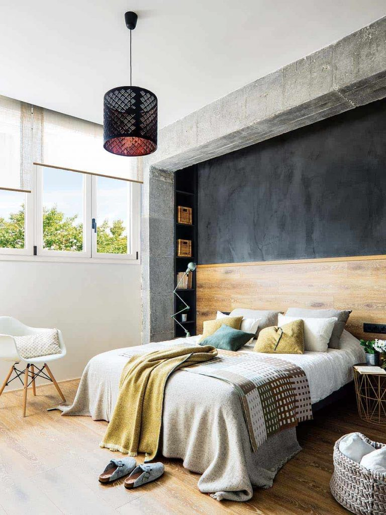 Industrial Bedroom For Apartment