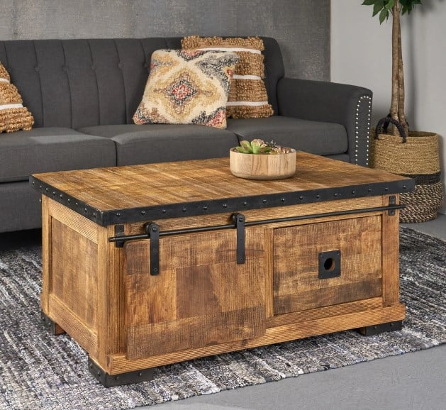 Industrial Cool Coffee Table