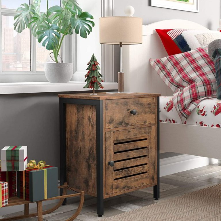 Industrial Small Nightstand Ideas