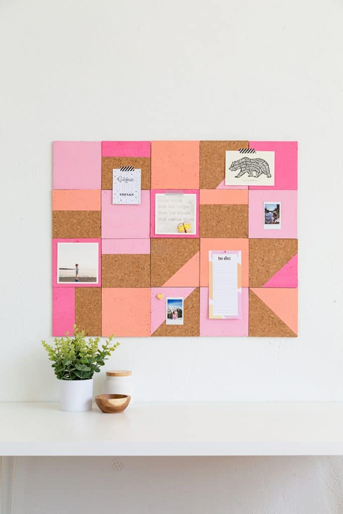 Pink Cork Board Ideas