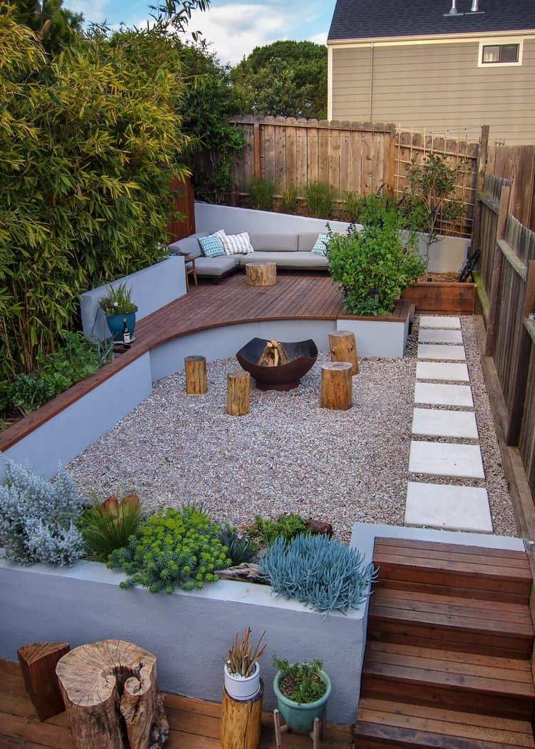 Intimate Backyard Garden