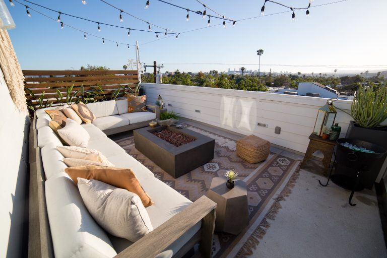 Intimate Rooftop Deck
