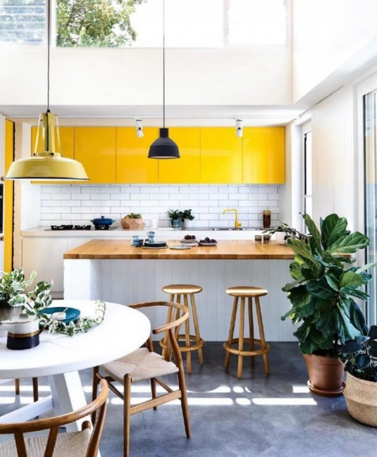 Joyful Mid Century Modern Kitchen