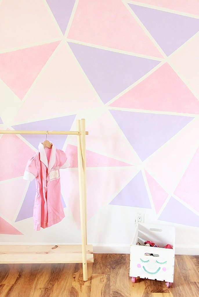 Kids Geometric Wall Paint