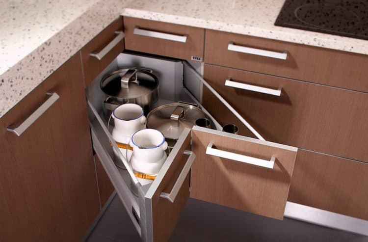Kitchen Corner Cabinet Pull Out