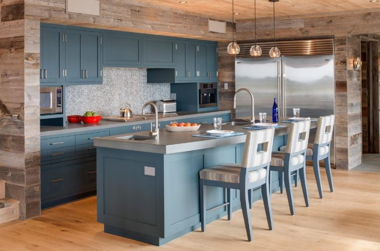 Kitchen Wood Accent Wall Ideas