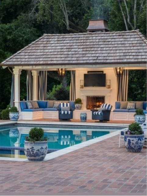 Large Pool Cabana Ideas