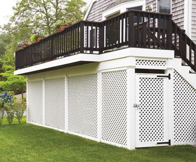 Latice Deck Skirting
