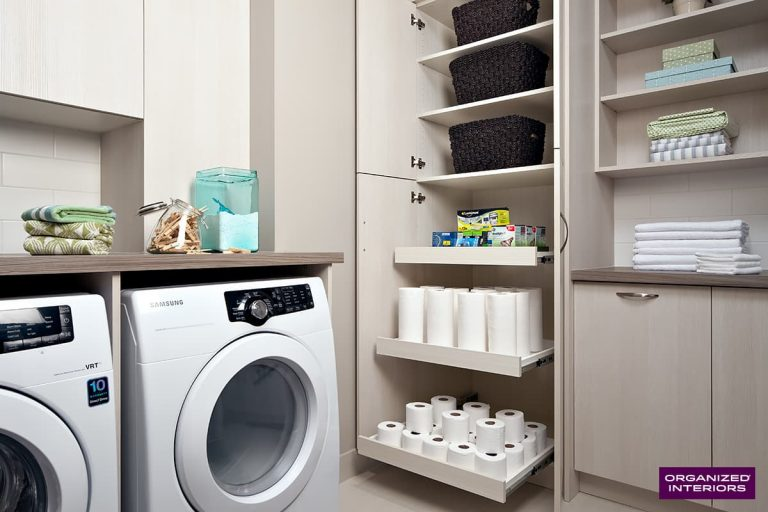 Laundry Room Shelving Storage