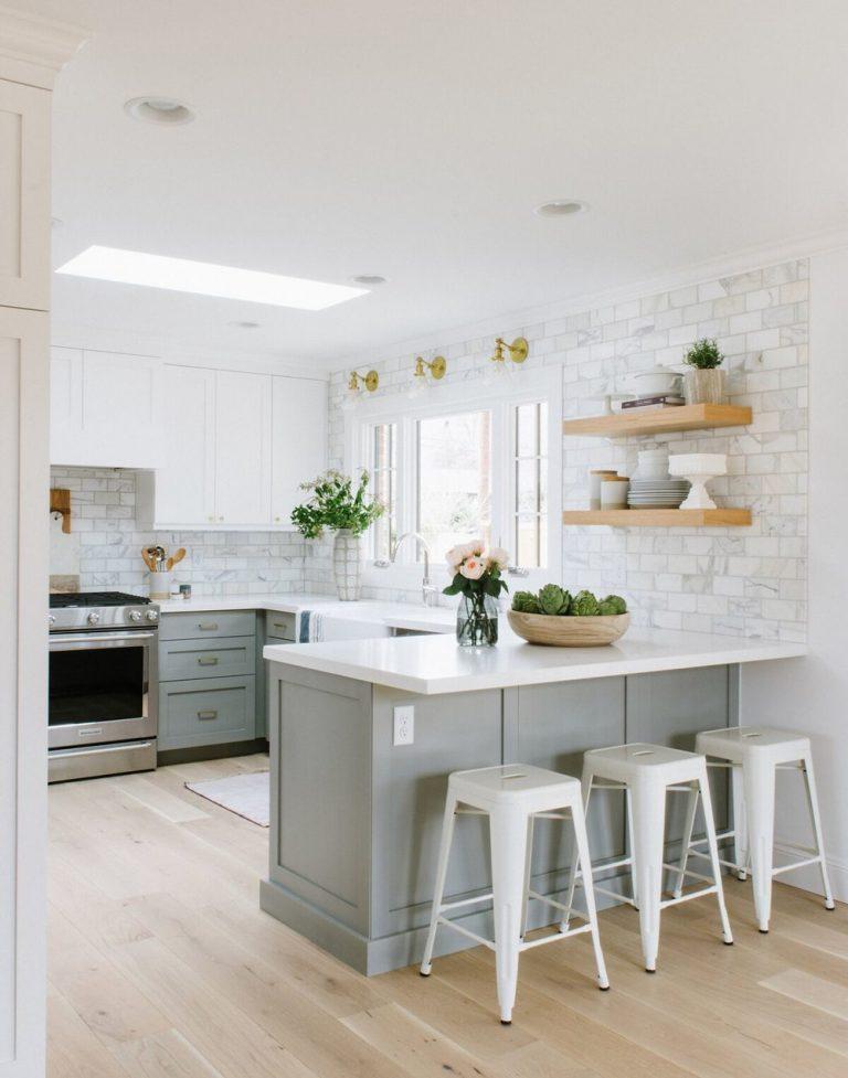 Light Grey Kitchen Cabinet