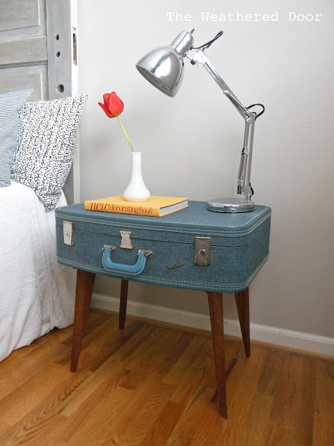 Low Suitcase Small Nightstand Ideas