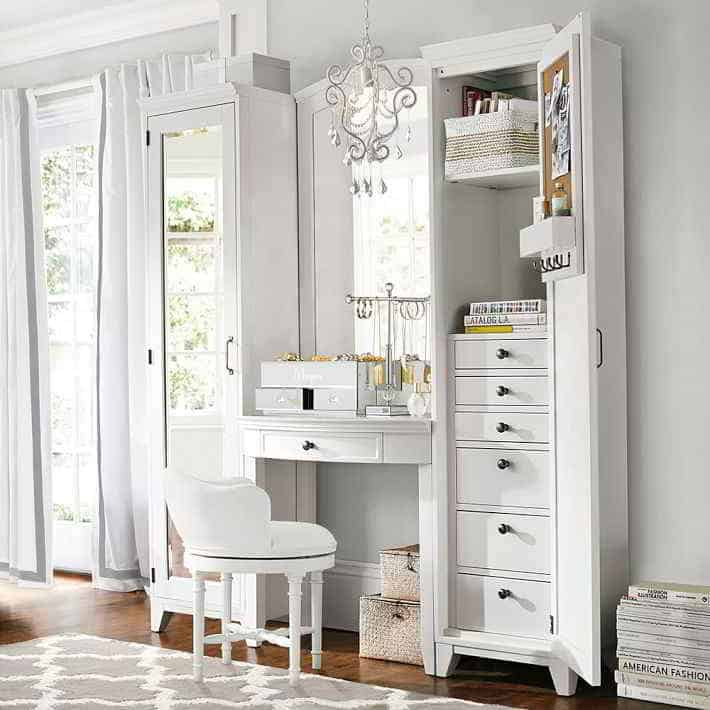 Makeup Room Storage Ideas