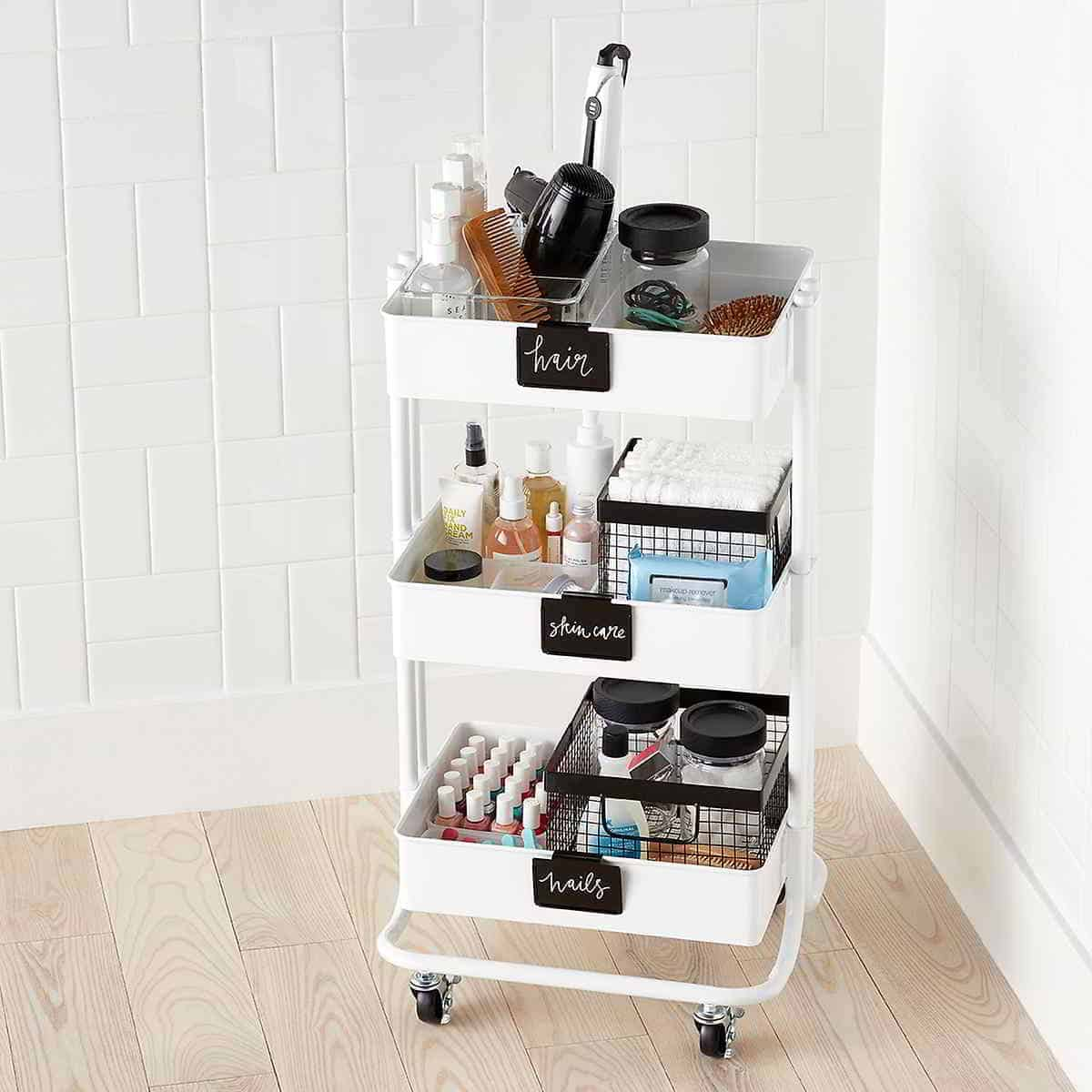Makeup Shelf Storage Ideas