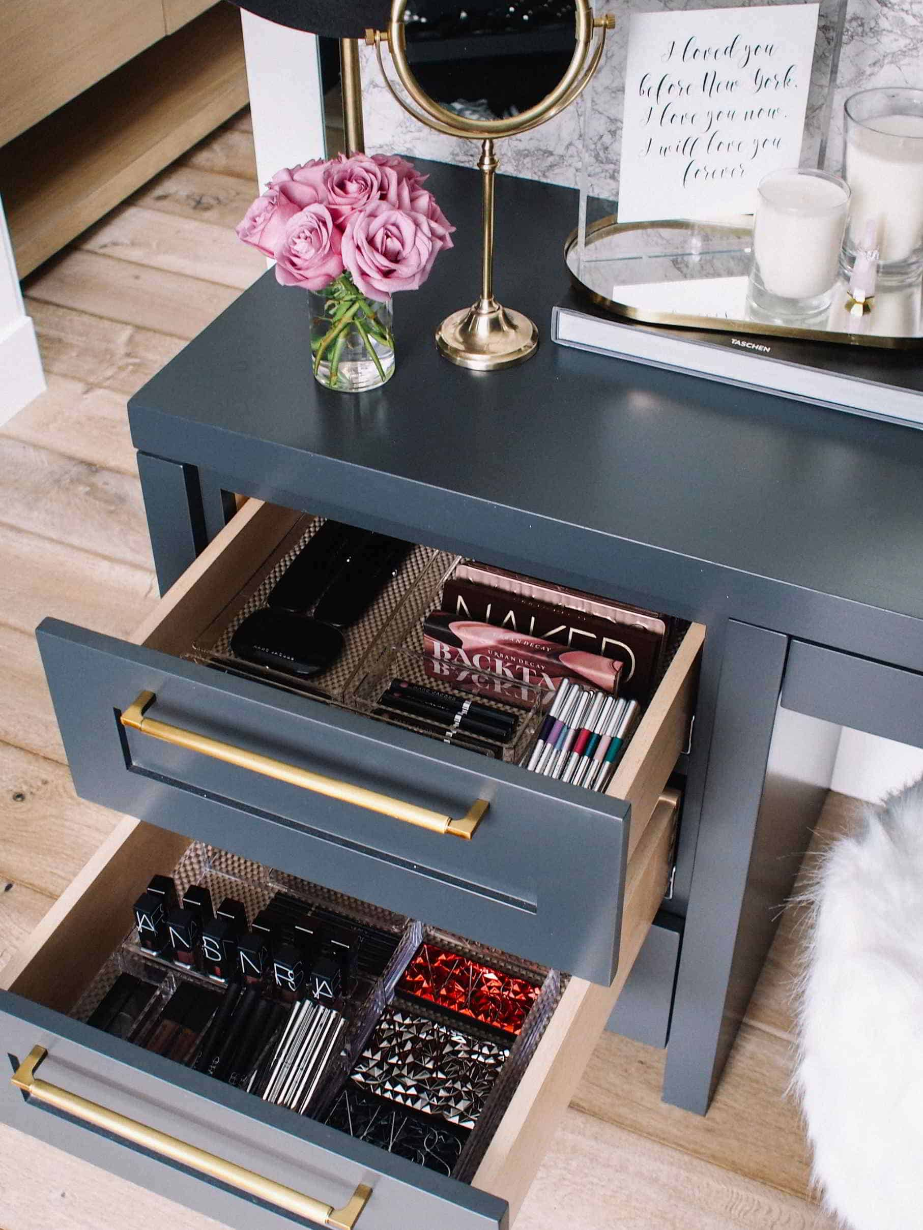 Makeup Storage Drawer Ideas
