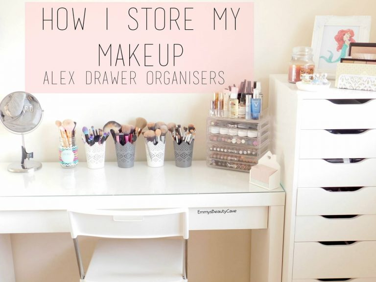 Makeup Storage Dressing Table Ideas