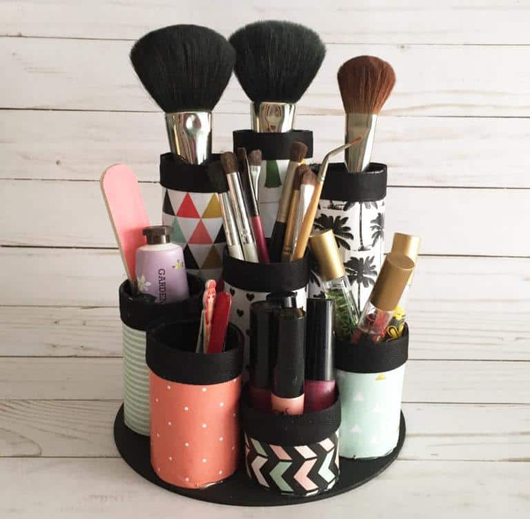 Makeup Storage Ideas DIY