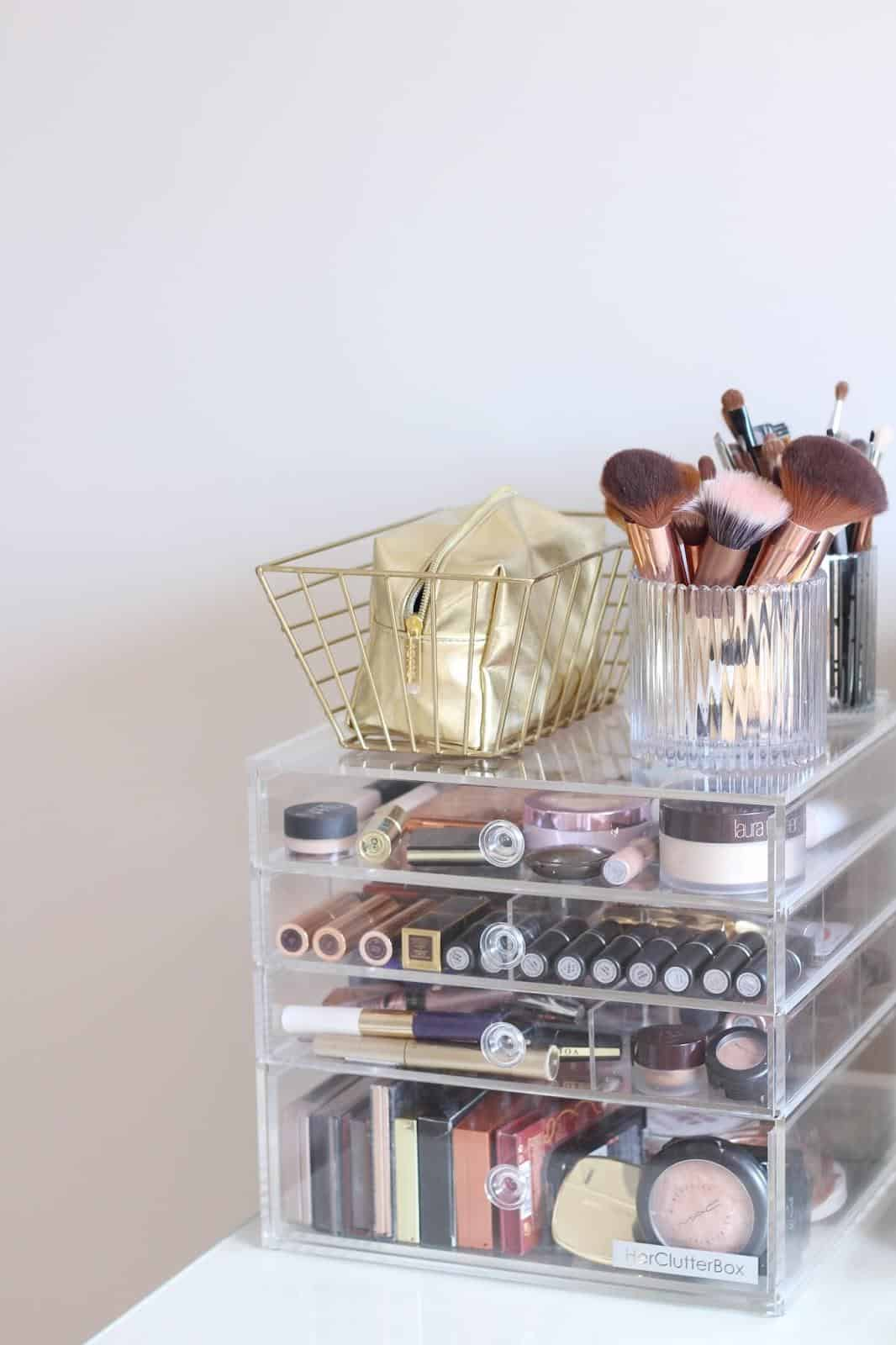 Makeup Storage Organization Ideas