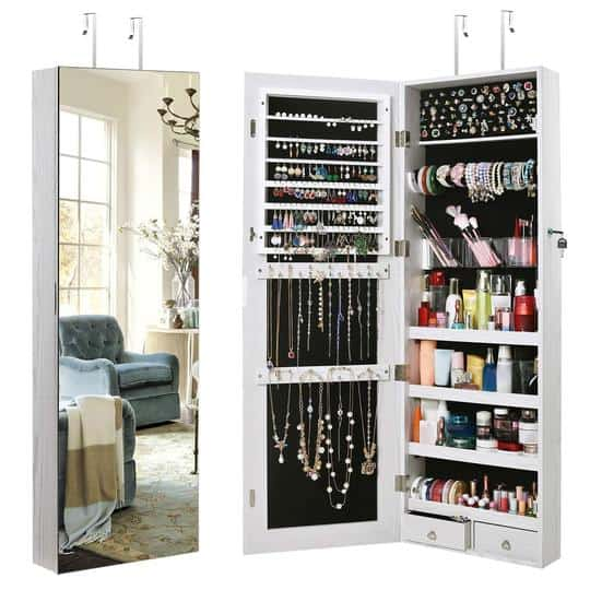 Makeup and Jewelry Storage Ideas