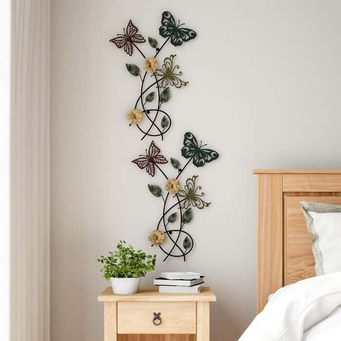 Metal Butterfly Decorations