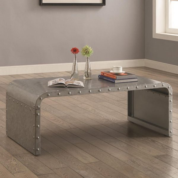 Metal Industrial Cool Coffee Table