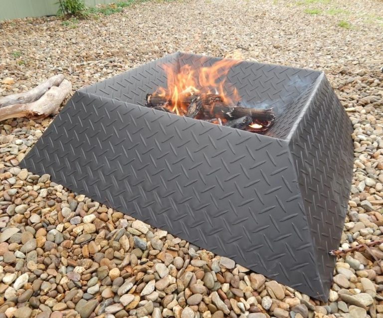 Metal Sheet Fire Pit Ideas