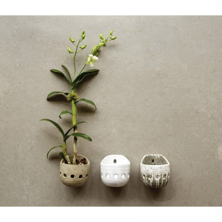 Mini Ceramic Wall Planters Indoor for Orchid