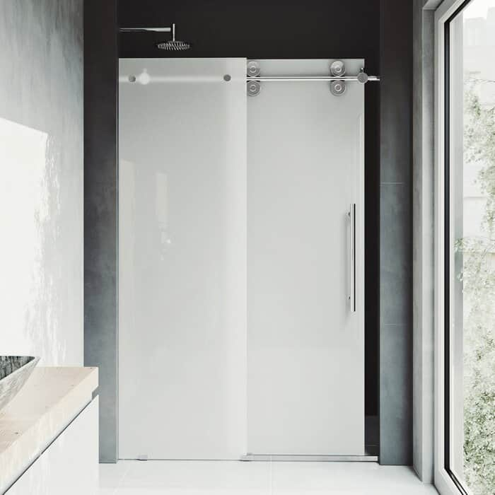 Modern Shower With Sliding Door