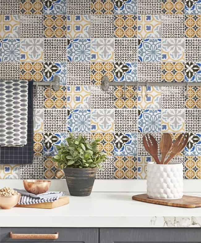 Moroccan Penny Tiles