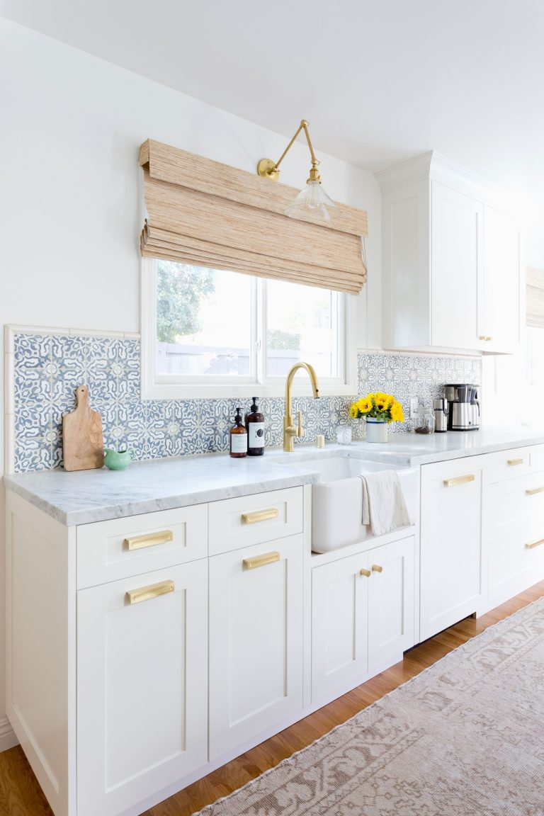 Moroccan Tiles Backsplash