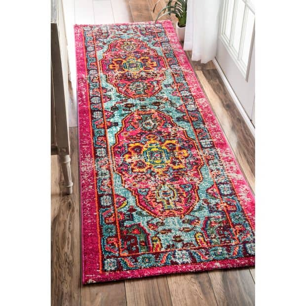Multi-colored Kitchen Runner Rugs