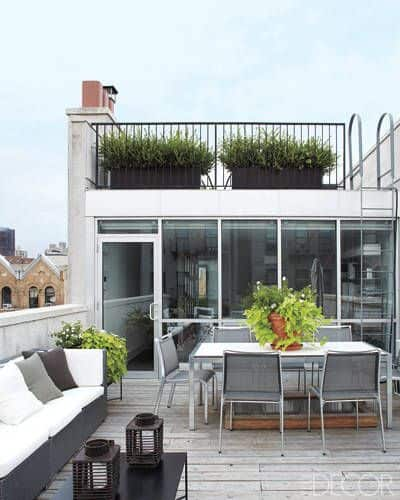 Multilevel Rooftop Deck