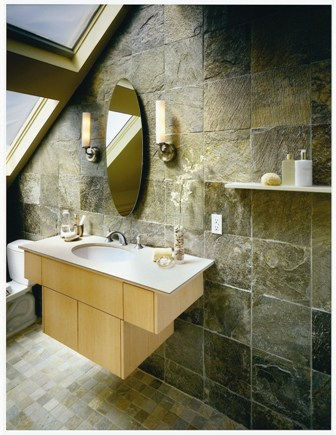 Natural Stones Bathroom Idea