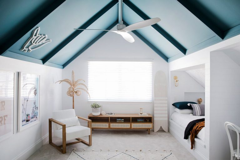 Nautical Attic Bedroom Ideas For Kids