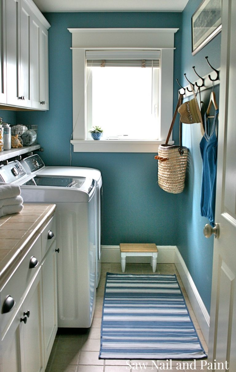 Nautical Laundry Room Paint Colors