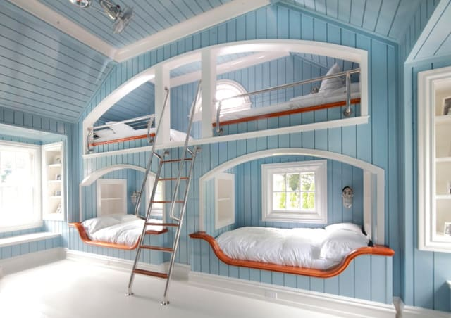 Nautical Tiered Cool Beds