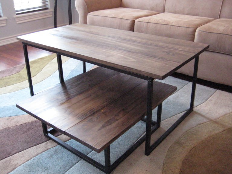 Easy Steps DIY Nested Coffee Table