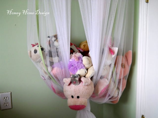 Netting Stuffed Animal Storage