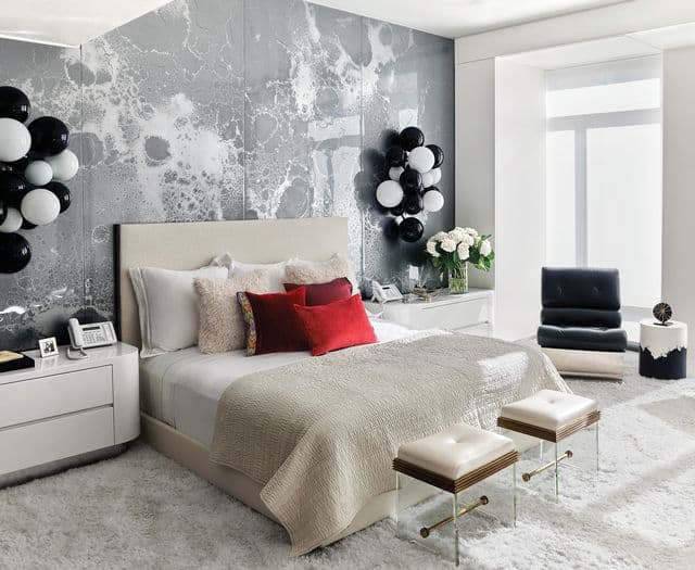 Neutral Vibe of Art Deco Bedroom