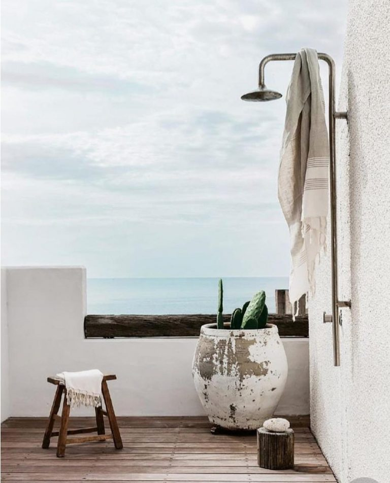 Oceanfront Outdoor Shower