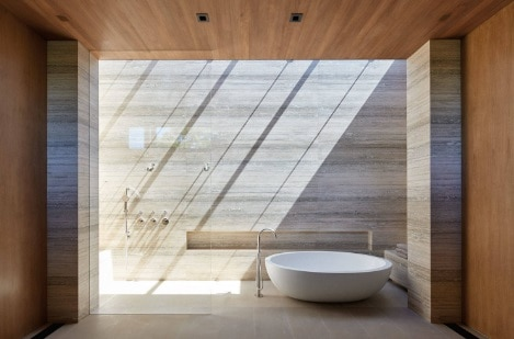 Opened-Air Modern Shower