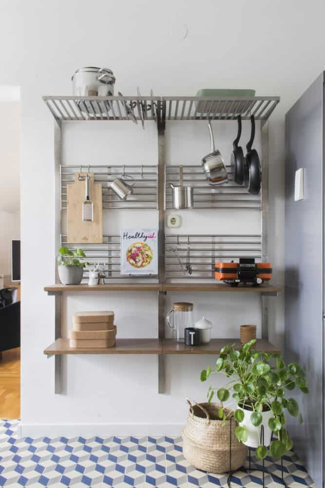 Open Kitchen Shelving IKEA