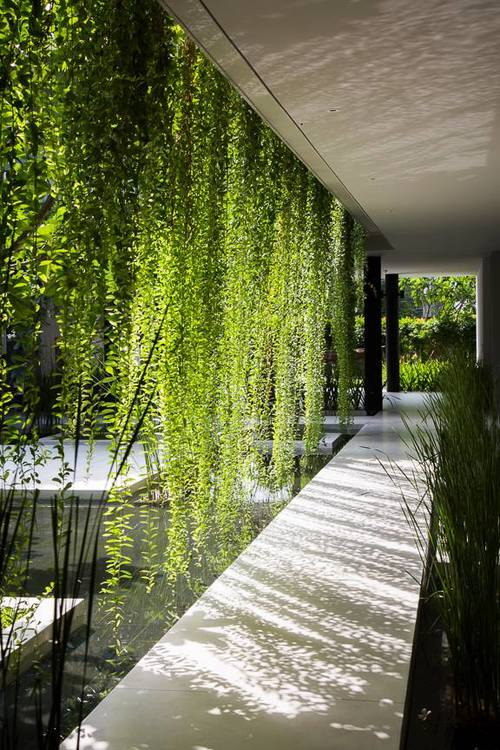 Outdoor Hanging Privacy Screens