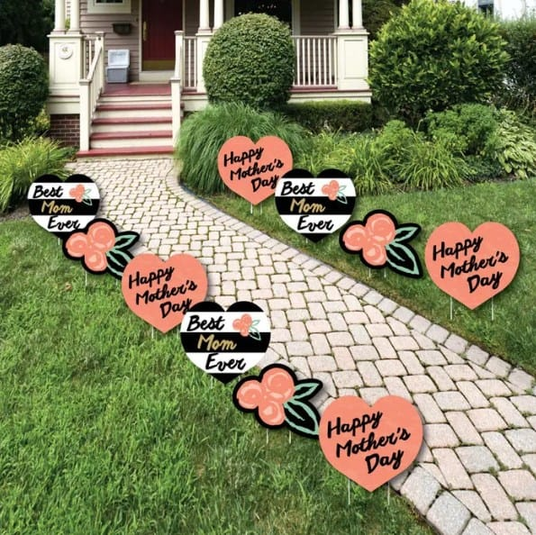 Outdoor Mothers Day Signs