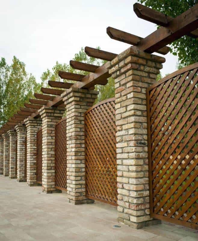 Outdoor Privacy Screens or Fences
