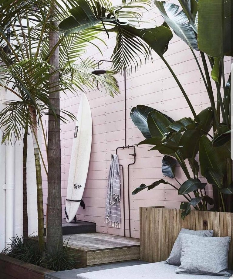 Outdoor Shower for the Surfer