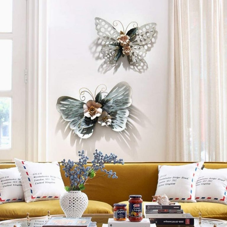 Oversized Metal Butterfly Decorations