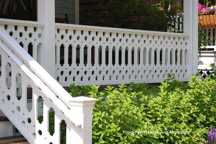 Patterned Deck Railing Ideas