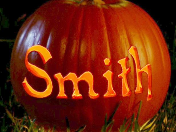 Personalized Carving Pumpkin