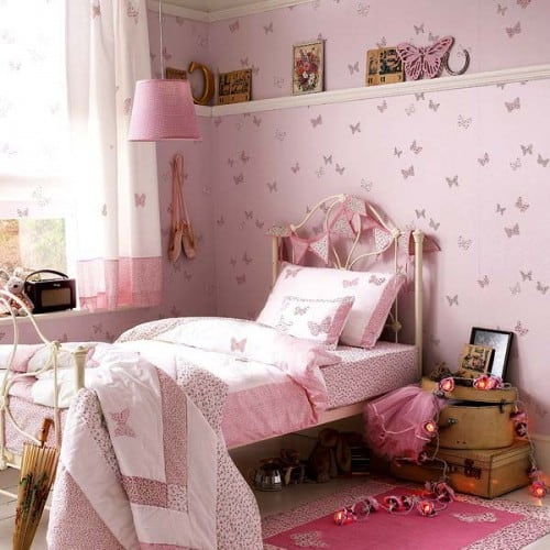 Pink Wall Butterfly Decorations